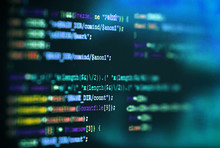 Software Computer Programming Code Abstract Technology Background