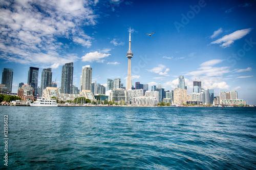 Tuinposter Toronto City on the Lake