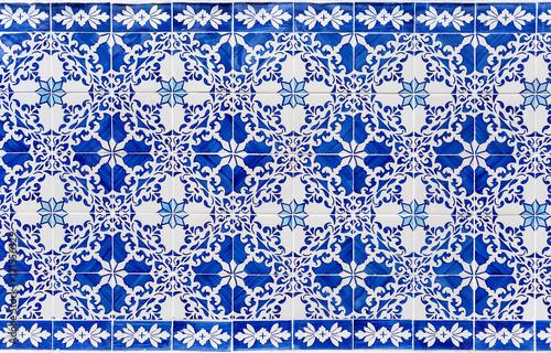 blue azulejos - tiles from Lisbon