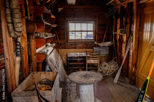 Fotografie, Obraz  Fishing Shack