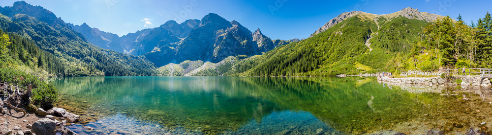 Fototapety, obrazy: Panorama Morskiego Oka