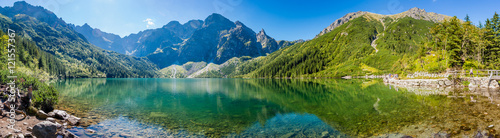 Photo sur Toile Photos panoramiques Panorama Morskiego Oka