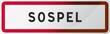 Panneau Sospel - Alpes-Maritimes (06) - Région PACA