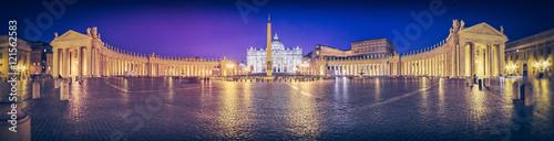 Photo sur Aluminium Rome Rome, place Saint Pierre