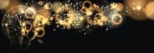 Hintergrund Mit Feuerwerk Und ...