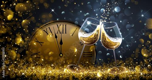 Fotografía  Twelve o'Clock on New Year's Eve