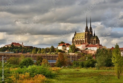 фотография  The icons of the Brno city's ancient churches, castles Spilberk