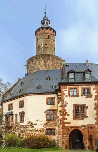 Poster Artistiek mon. Budingen castle, Germany