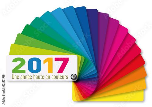 Photographie  2017 - Carte de vœux - Nuancier