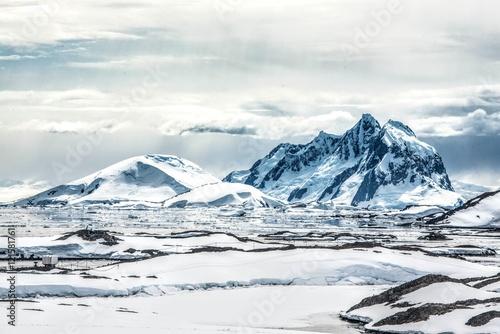 Staande foto Antarctica Sureal Antarctica