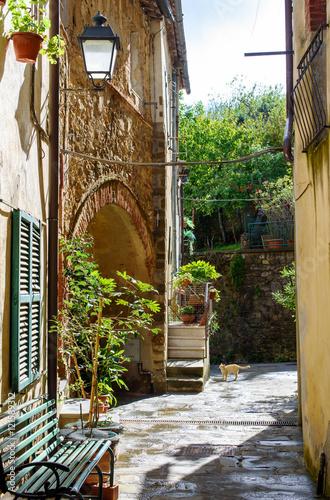 alley of the italian village, Scansano, tuscany © Georgia K