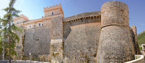 Photo Piccolomini castle in celano (Italy)