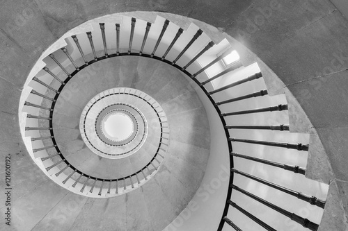 spiral stair case Canvas-taulu