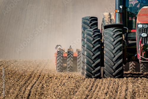 Tractor field works