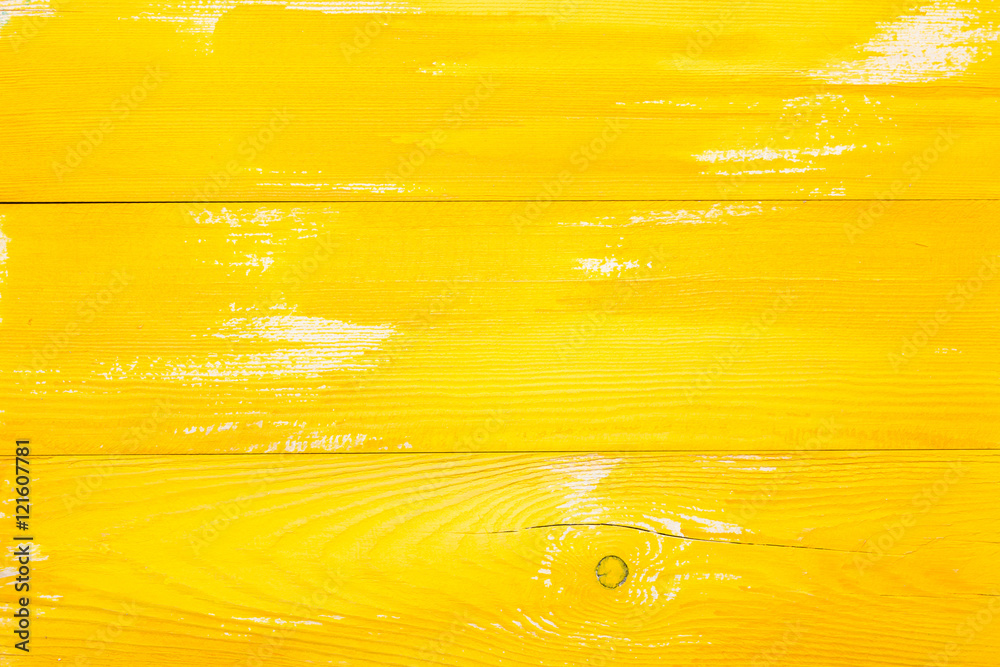 Fototapety, obrazy: yellow wood texture background