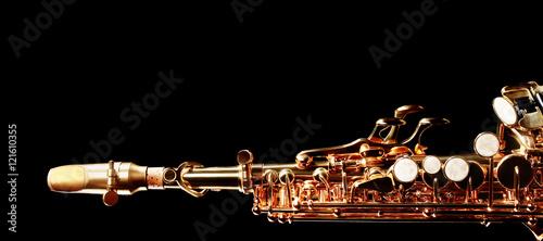 Saxophone soprano musical instruments - 121610355