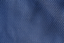 Blue Net Textile Pattern