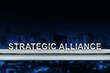 strategic alliance on metal railing