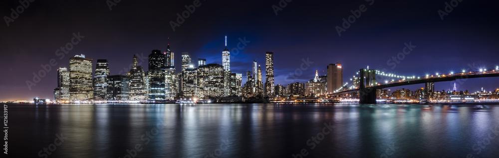 Fototapeta Downtown Manhattan Skyline