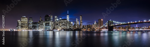 Fototapety, obrazy: Downtown Manhattan Skyline