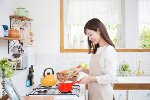 Fotografia  女性 主婦 キッチン