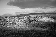 Dry Stone Wall In The Yorkshire Dales