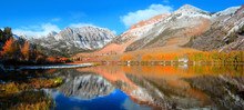 North Lake Landscape In California Eastern Sierra Mountains
