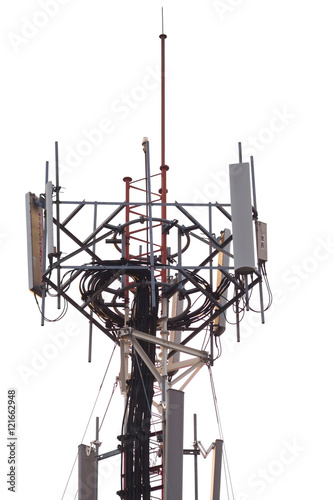 Cell site, Telecommunications radio tower or mobile phone