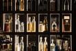 canvas print picture - Alcohol Beverages Bar Shelf