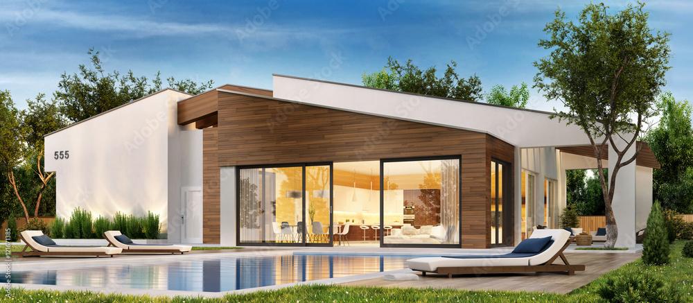 Fototapeta The dream house 69