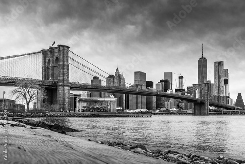 Aluminium Prints Bestsellers Brooklyn Bridge