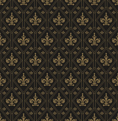 NaklejkaWallpaper Pattern Art Deco