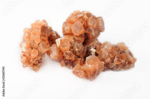 Photo complex aragonite druse