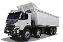 Big Dump Truck With Shadow