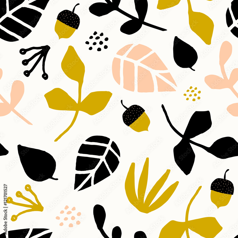 Jesienny wzór <span>plik: #121701527 | autor: Iveta Angelova</span>