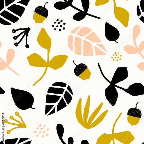 fototapeta na ścianę Seamless Autumn Pattern
