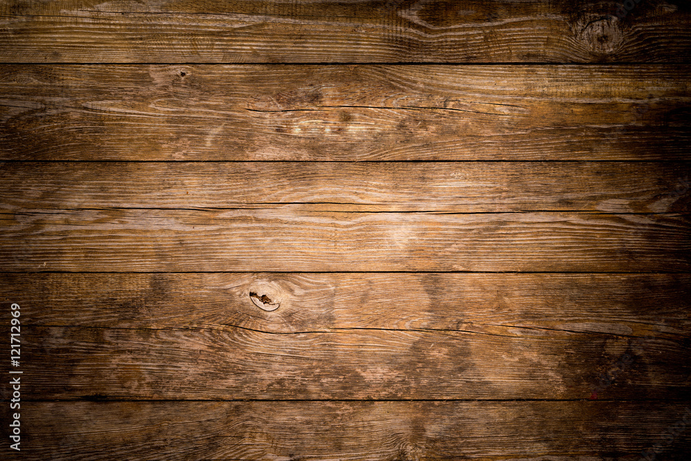 Fototapety, obrazy: Rustic wood planks background