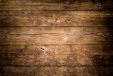 Fototapeta Forest - Rustic wood planks background