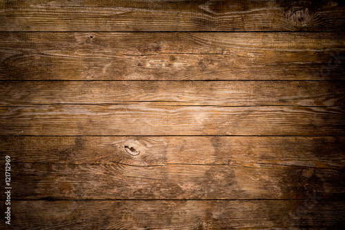 Deurstickers Hout Rustic wood planks background
