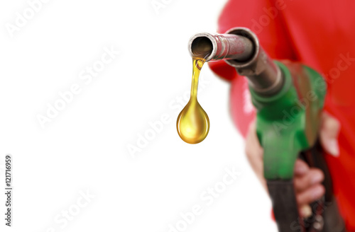 Gasoline Fuel Nozzle Fototapeta