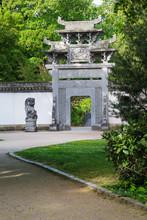 Chinese Garden In Frankfurt
