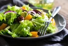 Vegetable Salad With Pumpkin