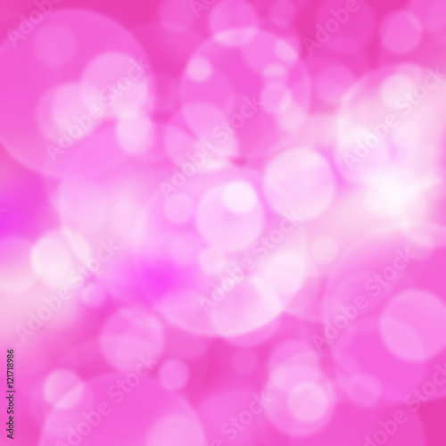 Beautiful Bokeh Pink Color For Desktop Background And