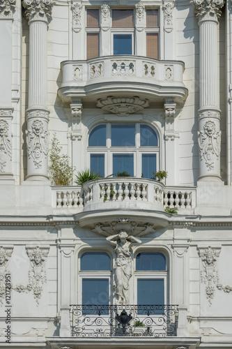 Photo  Wiener Architektur auf der Wienzeile