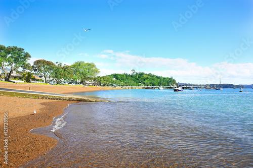 Foto op Plexiglas Caraïben Beach of Russell, Bay of Islands, New Zealand