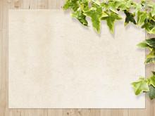 Wood Leaf Paper Texture