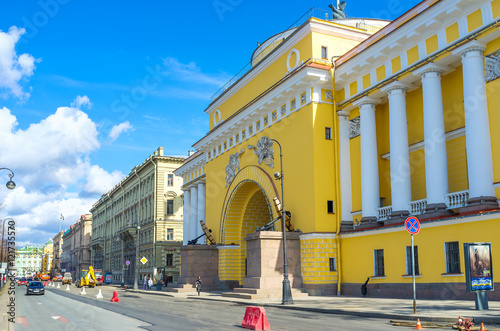Photo The Admiralty Building in St Petersburg