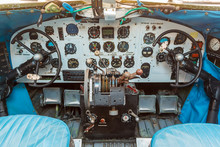 Engine Controls And Other Devices In The Cockpit