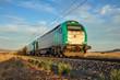 Tren de mercancías, ferrocarril, locomotora, España, Puertollano
