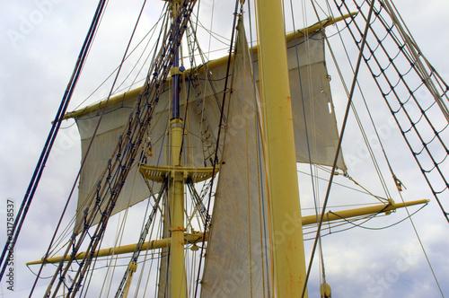 Fotografie, Obraz  Mast or Eagles Nest of an Antique Ship